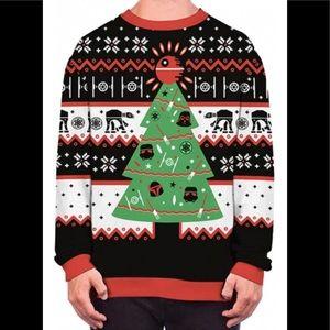 Star Wars X Mas Long Sleeve Sweatshirt, sz XL